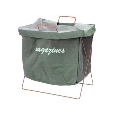 Кош за вестници и списания 35х25х28xсм зелен CN-(M-93997)- Horecano