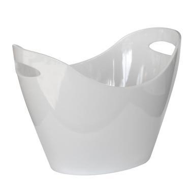 Поликарбонатна шампаниера 5.5л  бяла HORECANO-(TM97-13)