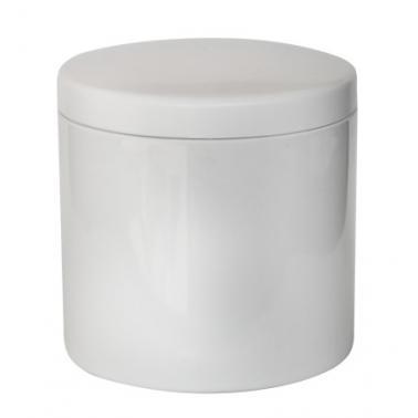Поликарбонатен съд за лед с капак бял  1л  HORECANO-(TM97-01)