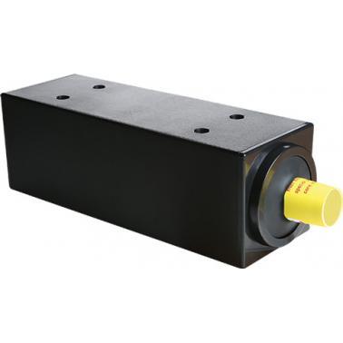 Пластмасов диспенсър за чаши за еднократна употреба черен 20x20xh58см(JD-86238)- Horecano