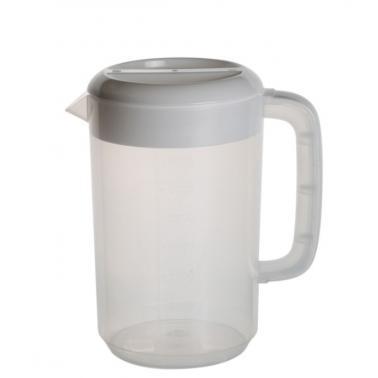 Пластмасова каназа вода 2,5л бяла 18x13xh25см (JD-PP8588) - Horecano