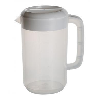 Пластмасова кана за вода 5л бяла 25x19xh29см (JD-PP8590)- Horecano