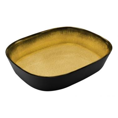Меламинов гастронорм жълт CAPSULE 1/2  h65мм 325x265мм  HORECANO(116412BK26)