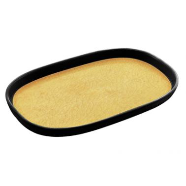 Меламинов гастронорм жълт  CAPSULE 1/3  f20мм  325x176мм  HORECANO(116713BK26)
