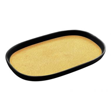 Меламинов гастронорм жълт  CAPSULE 1/4  h20мм  265х162мм  HORECANO (116714BK26)