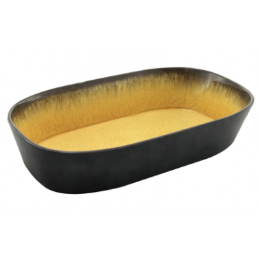 Меламинов гастронорм жълт  CAPSULE 1/4   h65мм    265х162мм   HORECANO (116414BK26)