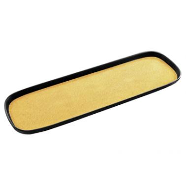Меламинов гастронорм жълт  CAPSULE 2/4  h20мм  530x162x20мм  HORECANO (116724BK26)