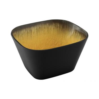 Меламинов гастронорм жълт  CAPSULE  1/6  h100мм   176x162мм  HORECANO(116816BK26)