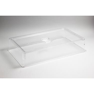 Поликарбонатен прозрачен капак на гастронорм 1/1- 100мм  (53х33х10см) HORECANO - (540511TR)