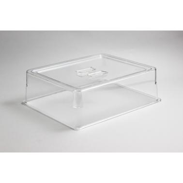 Поликарбонатен прозрачен капак за  гастронорм 1/2- 100мм (33х27х10см) HORECANO- (540512TR)