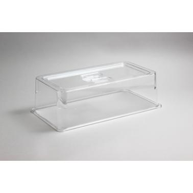 Поликарбонатен прозрачен капак за  гастронорм 1/3   h100мм 325x176мм   HORECANO- (540513TR)