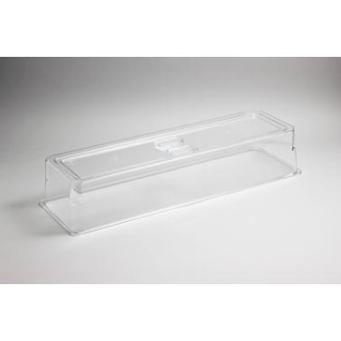 Поликарбонатен прозрачен капак за гастронорм 2/4 - 100мм (53.5х17.1х10см) HORECANO- (540524TR)