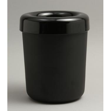 Пластмасово кошче за маса 13х13х15см черно HORECANO- (502705BK)