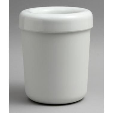 Пластмасово кошче за маса 13х13х15см бяло HORECANO- (502705IV)