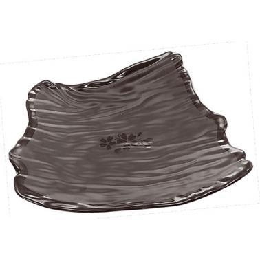Меламиново   плато   за суши 30x23xh5,6см черно  HORECANO-SHIBUI-(118412BK)