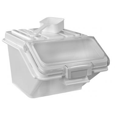 Пластмасов контейнер за съхранение на продукти 47л бял 59x48xH44см(JD-IB47)- Horecano