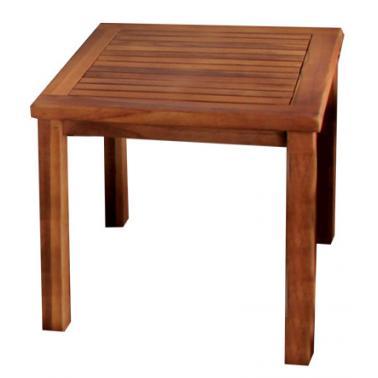 Дървена масичка за шезлонг 45x45xh45см JAVA-(TLT 046)- Horecano