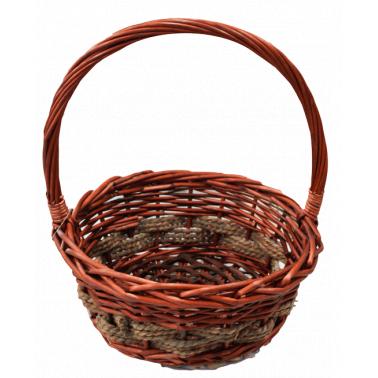Ратанова кошница кръгла размер S CN-(M-012T / А0221) - Horecano
