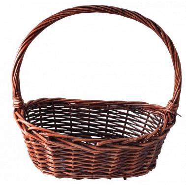 Ратанова кошница овал размер L 39x27x38см CN-(TY0101 / A0227) - Horecano