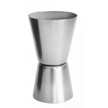 Иноксова мярка за алкохол двустранна 20/30мл. малка (джигър)  CN-(5400) - Horecano