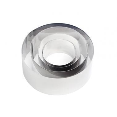 Иноксови форми кръгли комплект (2196) - Horecano