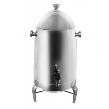 Иноксов диспенсър за топли напитки 16л. с подгревател (0687) - Horecano