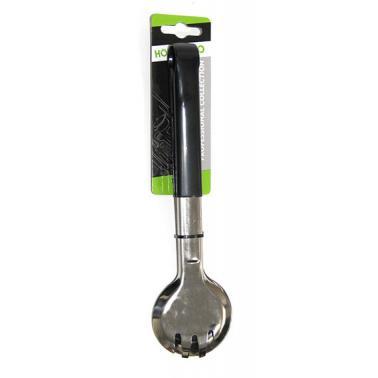 Иноксова щипка  за сервиране с неплъзгащо покритие М1848 CN-(181030) - Horecano