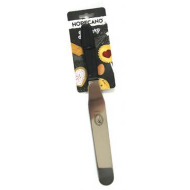 Иноксова шпатула  сладкарска 20см права 51018 BAKERY-(181062-3) - Horecano