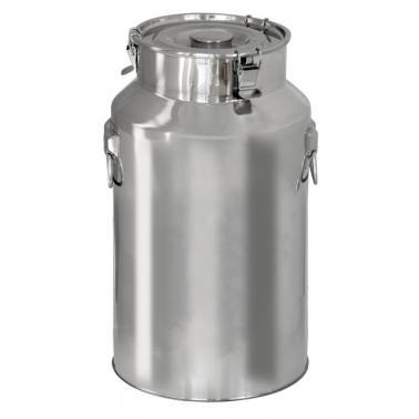 Иноксова канта за мляко 17л CN (181135) - Horecano