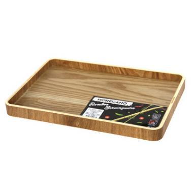 Бамбукова табла за хотелски консумативи 33x22xh2,7см  HORECANO-(HC-981498)