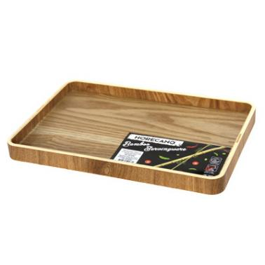 Бамбукова табла за хотелски консумативи 37x26xh2,7см  HORECANO-(HC-981499)