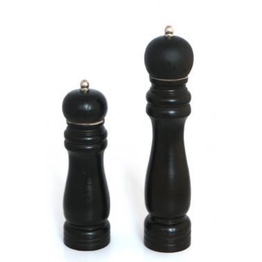 Дървена мелничка за черен  пипер   15.24см HORECANO-(0087-1)
