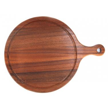Дървена дъска    за пица с дръжка 33x43x1.5см HORECANO-(HC-981527) C011F 193609-2