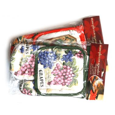 Текстилна  ръкавица с ръкохватка  CN-(0043) - Horecano