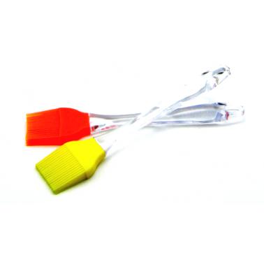 Силиконова четка с акрилна дръжка RBR-85D CN-(5652-4054-7717) - Horecano