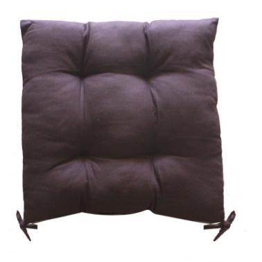 Текстилна възглавница 45x45см кафява (6147)- Horecano