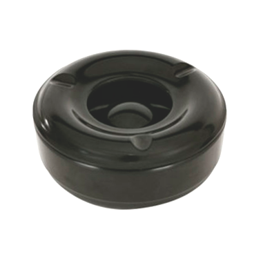 Меламинов пепелник ветроустойчив   черен ф14см  CN-(9528 / 7770-1) - Horecano