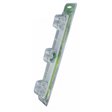 Пластмасов органайзер за метли и мопове CN-(5384) - Horecano
