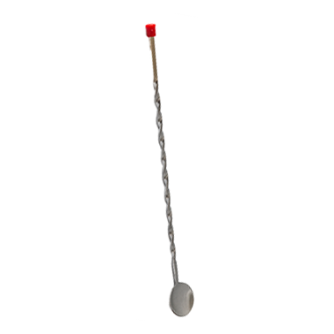Иноксова лъжица за коктейли 28см. CN-(9857-2) - Horecano