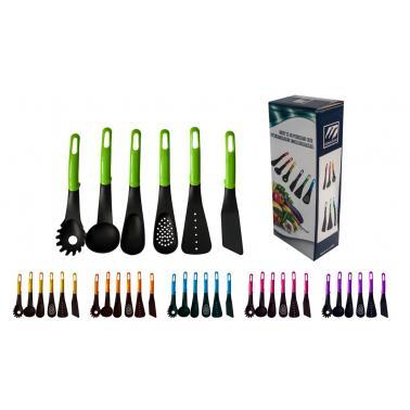 Комплект кухненски прибори цветна кутия - PVC CN-(9915) - Horecano