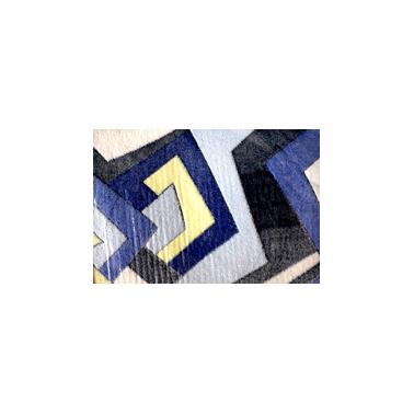 Стелка за баня  синя 2 части 80x58см CN-(9953-6) - Horecano