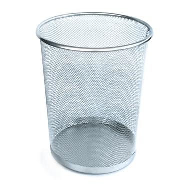 Иноксов кош, канцеларски мрежа 29x33,2см  сив CN-(5390-1) - Horecano