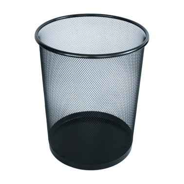 Метален кош, канцеларски мрежа 29x33,2см черен CN-(5390-2) - Horecano