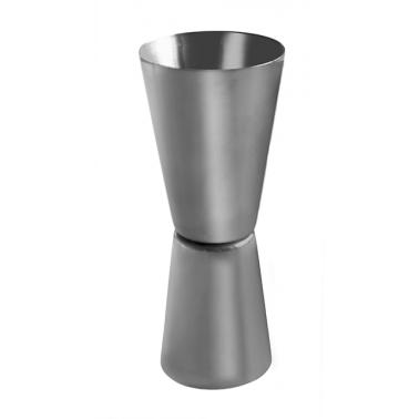 Иноксова мярка за алкохол двустранна 30/50мл. (джигър) CN-(5400) - Horecano