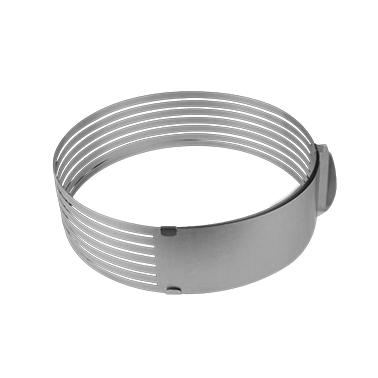 Иноксова форма за блатове за торти кръг M-1342 CN-(5482) - Horecano