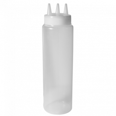 Пластмасова бутилка за сосове за декорация 18,6см CN-(А0060) - Horecano