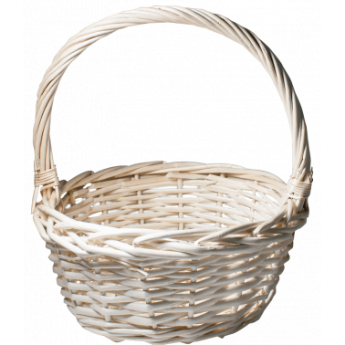 Ратанова кошница кръгла размер M ф30x32 см CN-(JSB010 / A0207) - Horecano
