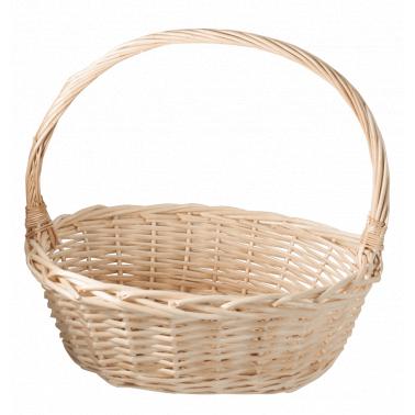 Ратанова кошница овал размер M 34x26.5x32см CN-(JSB011 / A0208) - Horecano