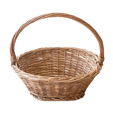 Ратанова кошница овал размер L CN-(81023 / A0215) - Horecano