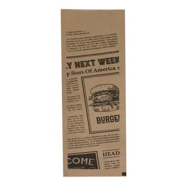 Хартиен джоб за прибори 24x8см